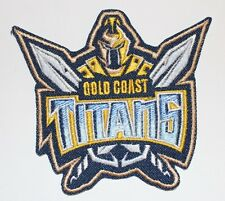 Titans Gold Coast Australia patch. - Iron-on - FREE SHIPPING in USA