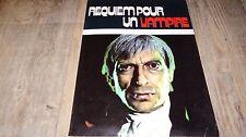 REQUIEM POUR UN VAMPIRE ! scenario dossier presse cinema jean rollin 1972