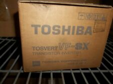 Toshiba Tosvert VF SX, VFSX, VFSX-2001UP Transistor Inverter 3PH-200/230V