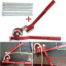 "Pro Manual Copper Pipe Bender 1/4"" 5/16"" 3/8"" 1/2"" 5/8"" Spring Bending Tubes NEW"