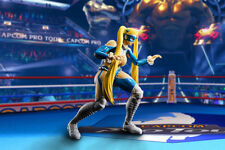 Street Fighter Rainbow Mika S.H. Figuarts Action Figure TAMASHII WEB EXCLUSIVE