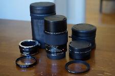 Leica R 100mm f2.8 Apo Macro Elmarit + Elpro 1:2-1:1 + Accessories, Mint