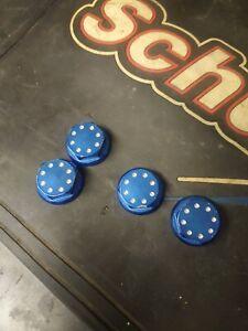 Hpi Baja Alloy Wheel Nuts, Billet, Blue, Nice Upgrade Km, Rovan