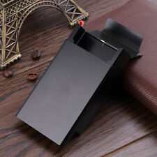 Push Open Aluminum Cigar Cigarette Tobacco Holder Pocket Storage Box Case IM