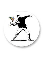 Magnet Aimant Frigo �˜38mm Banksy Street Art UK Graffeur Graff Art