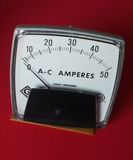 New Vintage Greenlee Panel AC Ammeter  2801 Free Shipping