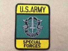 ECUSSON / PATCH US ARMY SPECIAL FORCES / FORCES SPECIALES DES ETAS UNIS