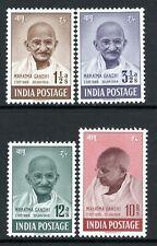 India 1948 Mahatma Gandhi Set SG305-308 MNH (High Cat)