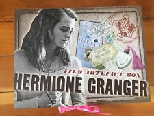 Hermione Granger Noble Collection Film Artifact Box Harry Potter Collectable