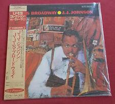 J.J. JOHNSON LP JAPON  VERVE J.J.'S  BROADWAY  + OBI