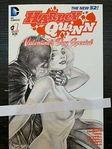Harley Quinn: Valentine's Day Special Risque Harley & Batman CUSTOM COVER ONLY
