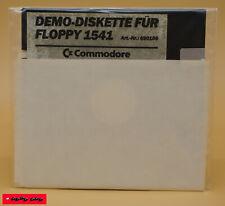COMMODORE - DEMO-DISKETTE FÜR FLOPPY 1541 / Gebraucht /