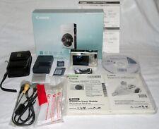 Canon PowerShot Digital SD1000 Digital ELPH Camera 7.1 MP 3X Silver in box