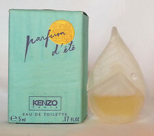 Parfum d'ete Kenzo edt mini profumi diversi campioncini sample scent echantillon