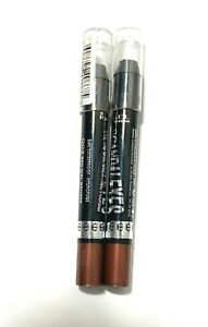 Lot Of 2 Rimmel Scandaleyes 24-Hr Eyeshadow Stick 003 Bad Girl Bronze DAMAGED