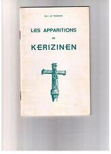 Les apparitions de KERIZINEN, Guy LE RUMEUR 1969 24 pages