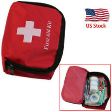 Outdoor First Aid Energency Kit Camping Sport Travel Car Home Medical Bag USA