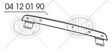 TRAVERSA RINFORZO PARAURTI ANTERIORE ANT LANCIA Y YPSILON 11>12> DAL 2011 IN POI