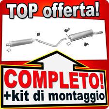 Scarico Completo PEUGEOT 307 CC 2.0 136CV Cabriolet 2003-2005 Marmitta 693