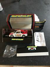 Scalextric Superslot Ford Escort Cosworth Cepsa H592 rally car boxed