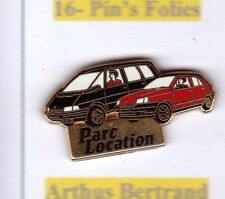R4# Pin's Arthus Bertrand voiture Renault automobile+++