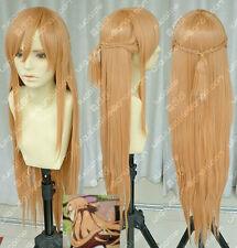 New Sword Art Online Asuna Yuuki Braid Cosplay Wig A5
