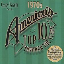 NEW Casey Kasem Presents: America's Top 10 Through Years - The 1970s (Audio CD)