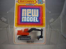 Matchbox 32 Atlas Excavadora mint & boxed * Ultra Raro *