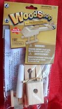 Helicopter Wood Shop Wooden Model Build Your Own!Easy assembly 5+ Fun Craft
