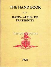 *Kappa Alpha Psi 1928 Handbook Research Copy as BONUS!* w/Purchase of 2-CD combo