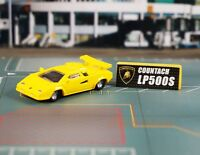 Lamborghihi Countach LP500S 1:100 Racing Car Model Diorama Cake Topper K1034_C