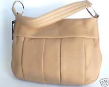 Alfani Soft Leather Handbag Neutral Beige -Large-New with tag-Retail $199.00