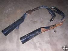 Honda cb700sc nighthawk exhaust system pipes mufflers cb700 700 84 85 86 1984