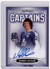DARRYL SITTLER 06/07 Parkhurst Auto #209 CAPTAINS RARE SP Autograph Maple Leafs