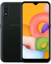 "New - Straight Talk - Samsung Galaxy A01 5.7"" Hd+ 13Mp Prepaid Smartphone"