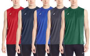 ASICS Men's Circuit 8 Warm-up Sleeveless Top, Color Options