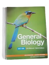 General biology, Bio 100L, lab Manual, San Diego State University.Spiral Bound.