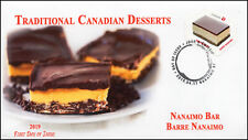 Ca19-028, 2019, Traditional Canadian Desserts, Pictorial Postmark, First Day Cov