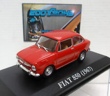 FIAT 850 rojo red 1/43 ALTAYA