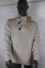 Maglioni e cardigan da uomo beige in lana