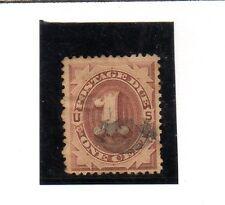 Estados Unidos Valor de Tasas nº 1 del año 1879 (CY-473)