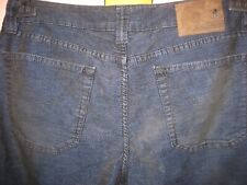 Jeckerson LUX Mens Velvet Jeans size 36 made in Italy