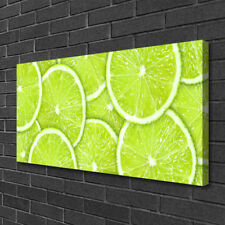 Canvas print Wall art on 100x50 Image Picture Lime Kitchen