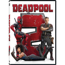 Deadpool 2 (DVD,2018) NEW Action Comedy Free Shipping