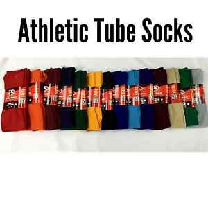 Athletic All Sport Tube Socks Baseball Soccer Softball Football Volleyball