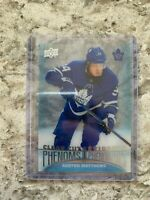 TIM HORTON'S 2018 - 2019 HOCKEY CARDS CLEAR CUT (( CC15 Auston Matthews ))