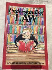 Understanding Law 4th Edition By Chisholm & Nettheim (1992) Australian Law