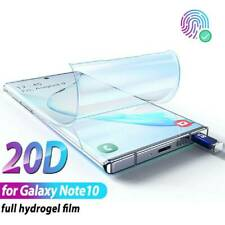 For Samsung Galaxy Note 10 Plus Hydrogel Screen Protector Film Full Coverage