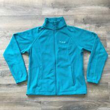 Women's Columbia Full-Zip Fleece Jacket Vibrant Blue Size L Large