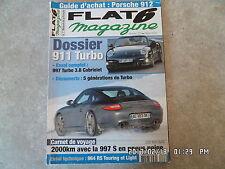 FLAT 6 N°228 02/2010 PORSCHE 911 TURBO GUIDE ACHAT 912 K37